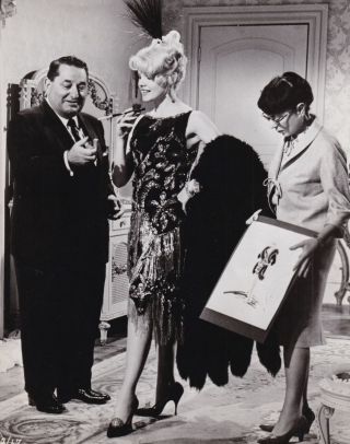 Harlow (Original photograph from the 1965 film). Jean Harlow, Edith Head, Gordon Douglas, Irving...