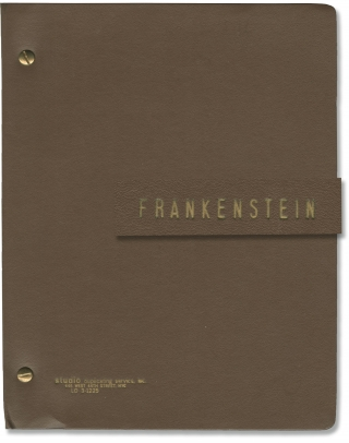 Frankenstein (Archive of material from the 1981 Broadway play). Mary Shelley, Tom Moore, Victor...