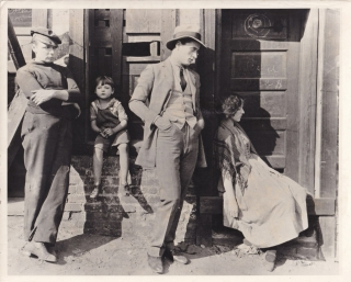 The Salvation Hunters (Original photograph from the 1925 film). Josef von Sternberg, Georgia Hale...