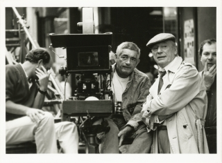Three Seats for the 26th [Trois Places pour le 26] (Original photograph of Jacques Demy and Yves...