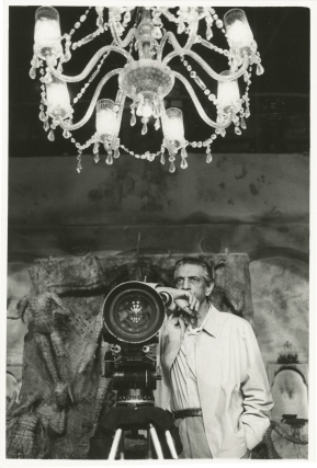 An Enemy of the People [Ganashatru] (Original photograph of Satyajit Ray from the set of the 1990...