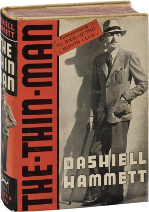 The Thin Man (First Edition, red jacket variant). Dashiell Hammett