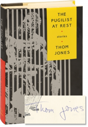 The Pugilist at Rest (First Edition, inscribed and altered by the author). Thom Jones