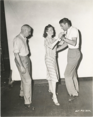Ball of Fire (Original photograph on the set of the 1941 film). Howard Hawks, Charles Brackett...