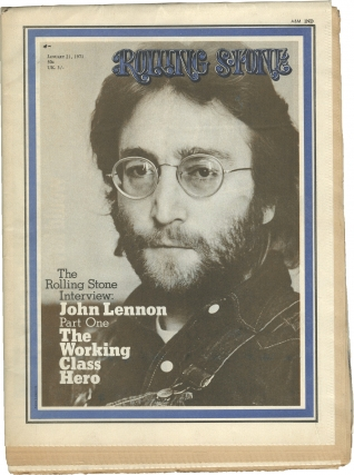Rolling Stone magazine Issues No. 74 and 75 (Two-part interview with John Lennon). Rolling Stone...