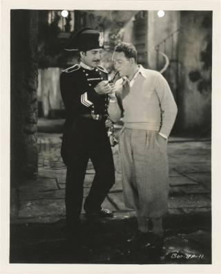 Street Angel (Original photograph from the set of the 1928 film). Frank Borzage, Monckton Hoffe,...