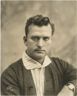 Original portrait photograph of Thomas H. Ince by photographer Albert Walter Witzel, circa 1910....