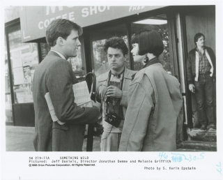 Something Wild (Original photograph from the set of the 1986 film). Jonathan Demme, S. Karin...