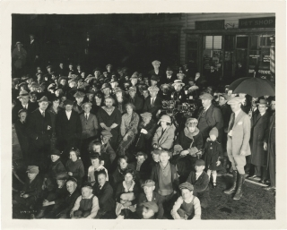 Greed (Original photograph of the cast and crew from the set of the 1925 film). Erich von...