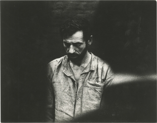 The Confession [L'aveu] (Original photograph of Yves Montand from the 1970 film). Costa-Gavras,...