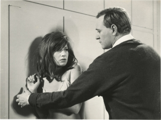 Red Desert [Il deserto rosso] (Original photograph of Monica Vitti and Richard Harris from the...