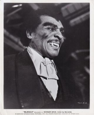 Blacula (Original photograph from the 1972 film). William Crain, Raymond Koenig Joan Torres,...
