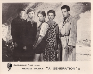A Generation (Original photograph from the 1955 Polish film). Andrzej Wajda, Roman Polanski,...
