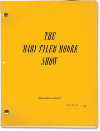 The Mary Tyler Moore Show: Mary's Aunt Returns (Post-production script for the 1976 television...