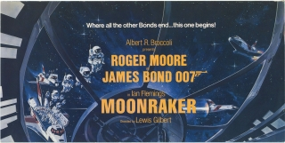Moonraker (Original film program for the 1979 film). Lewis Gilbert, Ian Fleming, Christopher...