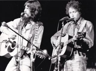 The Concert for Bangladesh (Original photograph of George Harrison and Bob Dylan from the 1972...