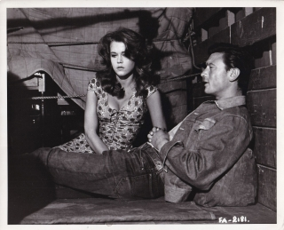 Walk on the Wild Side (Original photograph of Jane Fonda and Laurence Harvey from the 1962 film)....