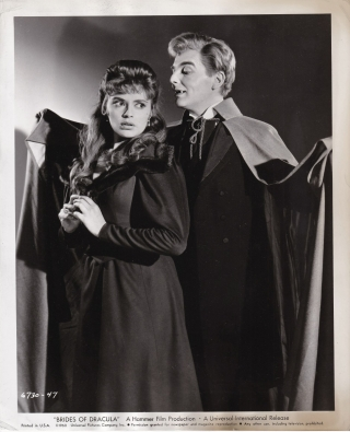 The Brides of Dracula (Collection of six original photographs from the 1960 film). Martita Hunt...