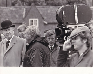 The Go-Between (Original photograph of Joseph Losey and Michael Redgrave on the set of the 1971...