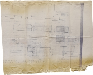 Force 10 from Navarone (Original blueprint of German Major Schroeder's HQ for the 1978 film). Guy...