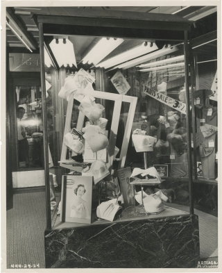 Fairfield's window display, St. Louis (Collection of five original photographs, circa 1950)....