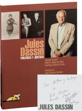 Jules Dassin: Violencia Y Justicia (In Spanish) (First Edition, Signed Association Copies)....