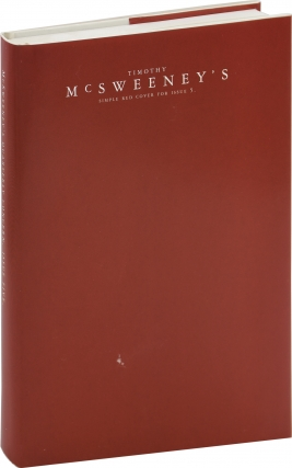 McSweeney's Journal (Quarterly) No. 5: Red Variant (First Edition). Dave Eggers, Paul LaFarge...