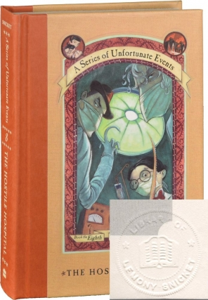 A Series of Unfortunate Events: The Hostile Hospital, Book the Eighth (Signed First Edition,...