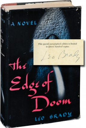 The Edge of Doom (Signed Limited Edition). Leo Brady
